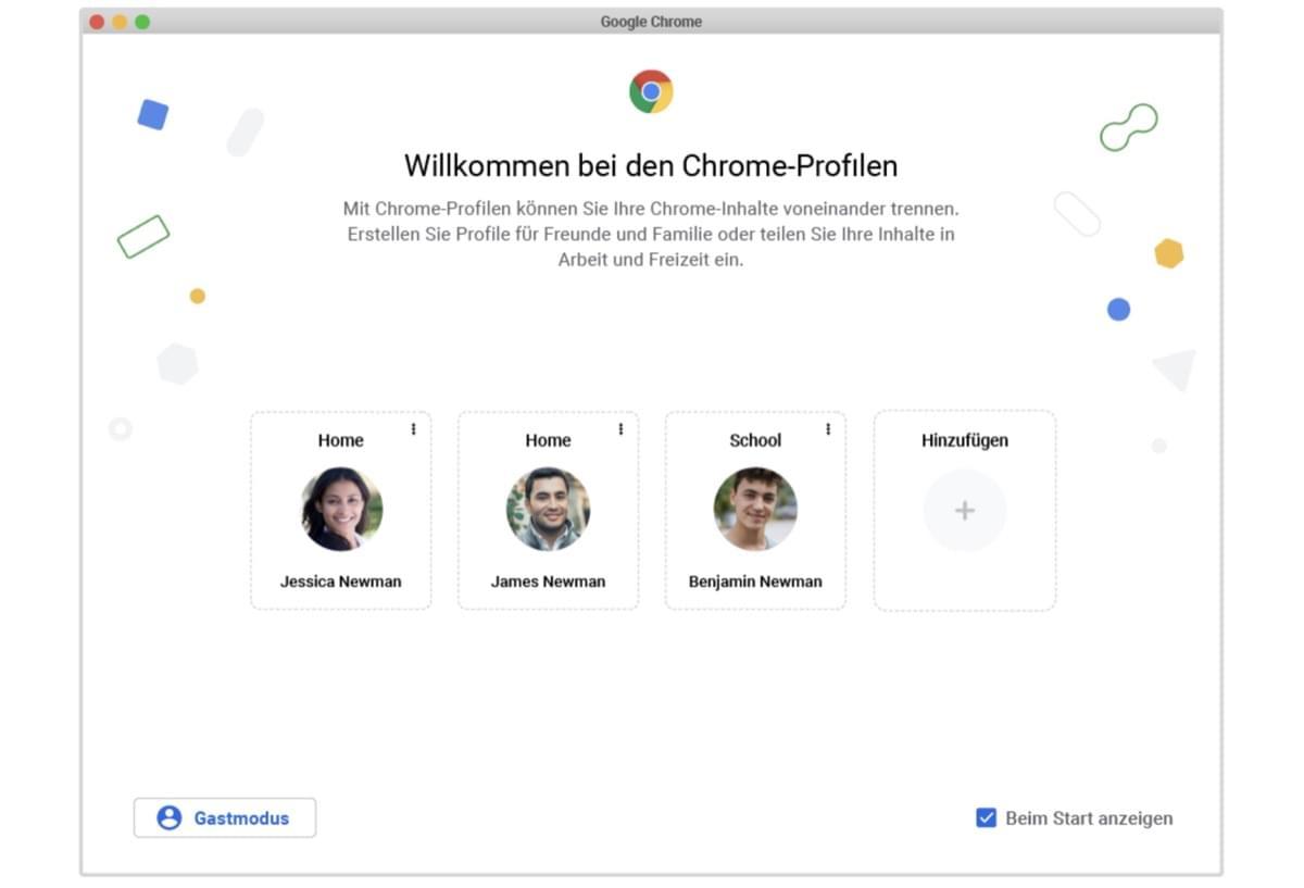 Google Chrome Update bringt Neuerungen für Profile