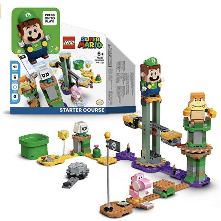 Lego & Nintendo: Abenteuer mit Luigi – Starterset 71387 nun offiziell