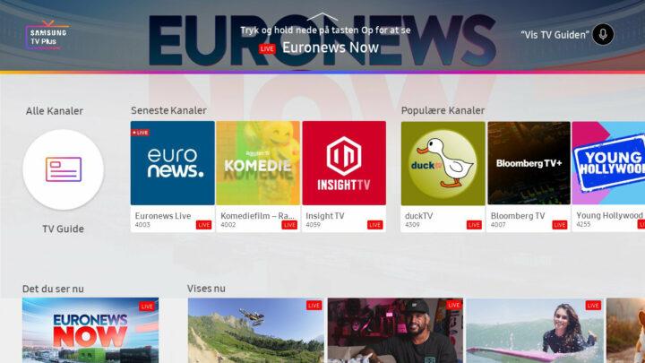 Samsung TV Plus & Rakuten TV starten mehr als 166 Kanäle in 16 Märkten