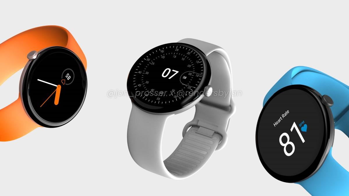 Google Pixel Watch: So soll Googles Smartwatch ausschauen