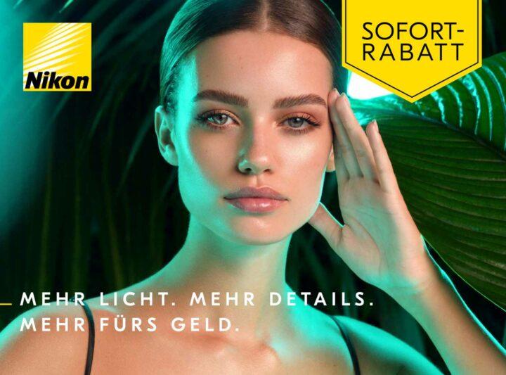 Nikon startet Sofort-Rabatt-Aktion auf Kameras und Objektive