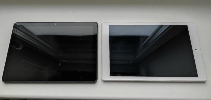 Links das neue Fire HD 10 Plus und rechts das Fire HD 10 (2019)