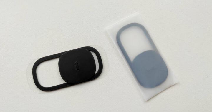 Die aufklebbaren Privacy Cover sind lediglich dünnes Plastik.