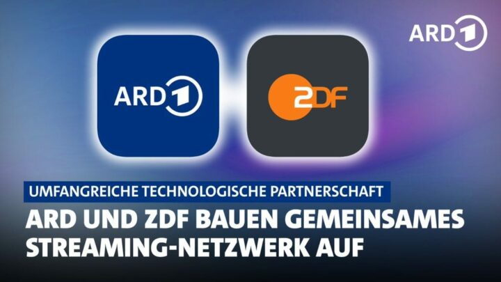 Gemeinsames Streaming-Netzwerk von ARD und ZDF angekündigt