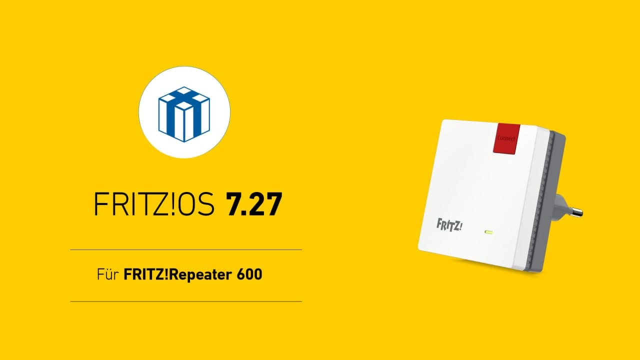 Jetzt auch mit FRITZOS 20.220 der AVM Fritz Repeater 20