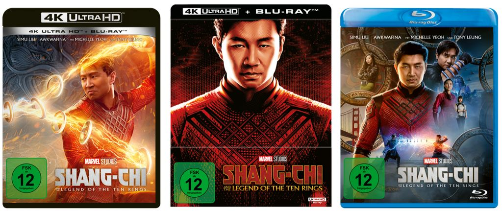 Shang-Chi and the Legend of the Ten Rings: Ab 18. November 2021 auf DVD, Blu-ray und 4K UHD Blu-ray