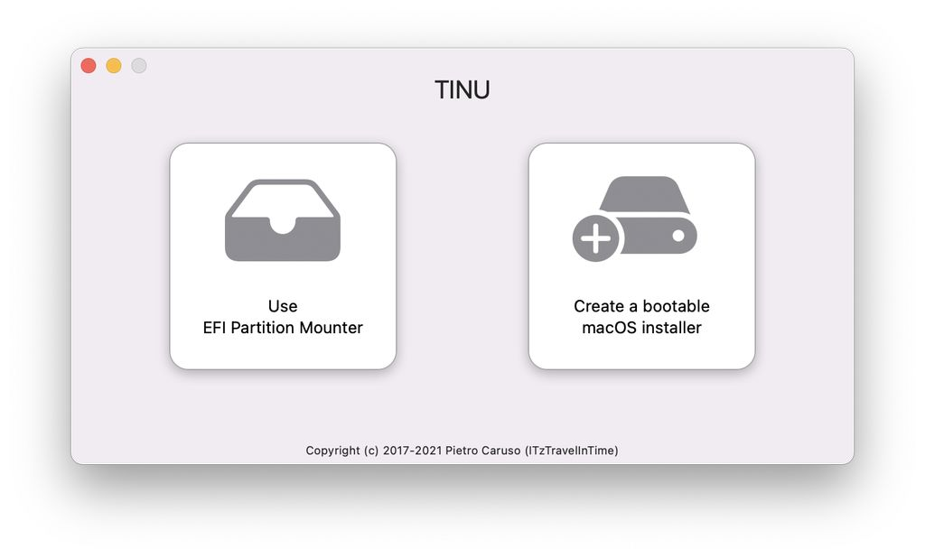 TINU 3.0 erschienen: Erzeugt macOS-USB-Installer